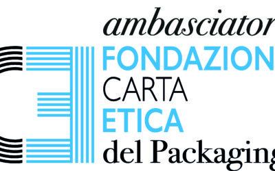 ACIMGA DIVENTA AMBASSADOR DELLA FONDAZIONE CARTA ETICA DEL PACKAGING