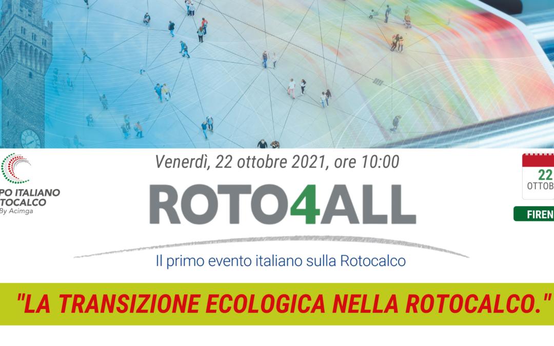 ROTO4ALL 2021 – SCOPRI L'AGENDA DELL'EVENTO DEDICATO ALLA ROTOCALCO